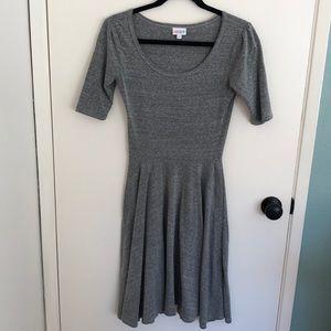 Grey Dress Lularoe Nicole